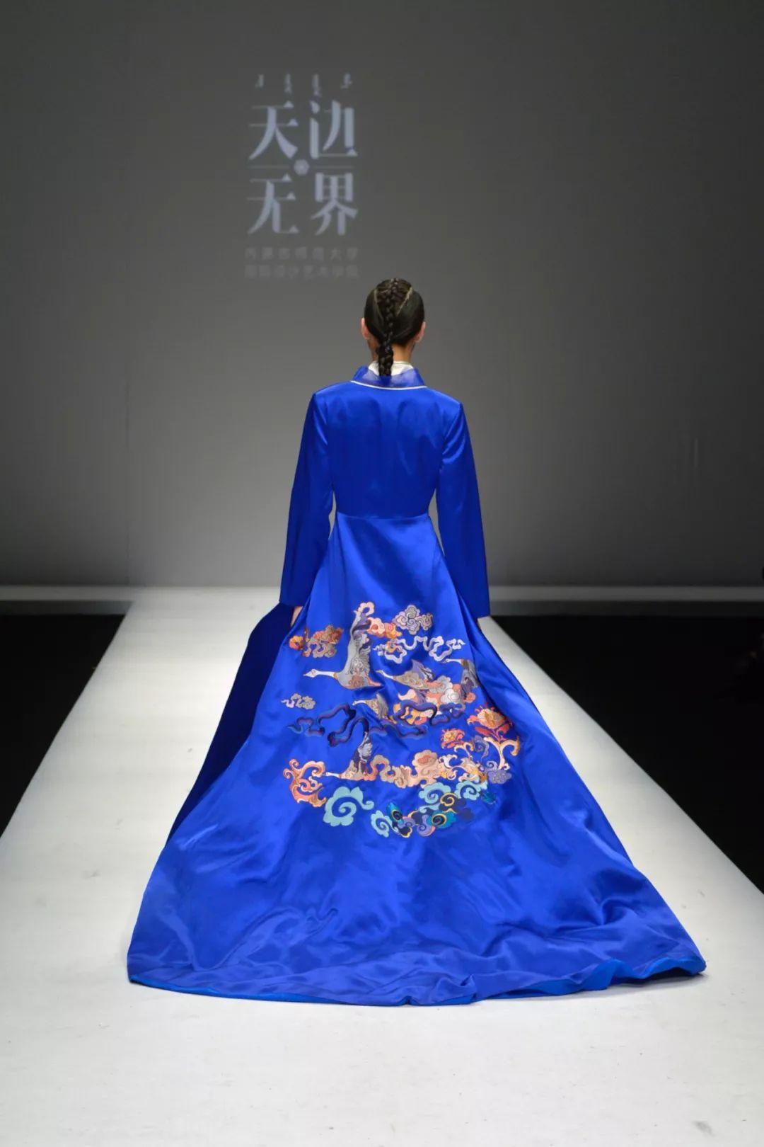 """""""天边·无界""""——内蒙古师范大学国际设计艺术学院毕业作品北京发布 第19张"""