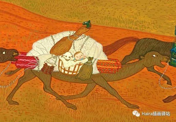 怎样包扎伤口_绘本赏析| 来自外蒙古的绘本《小图雅搬家》_蒙古元素