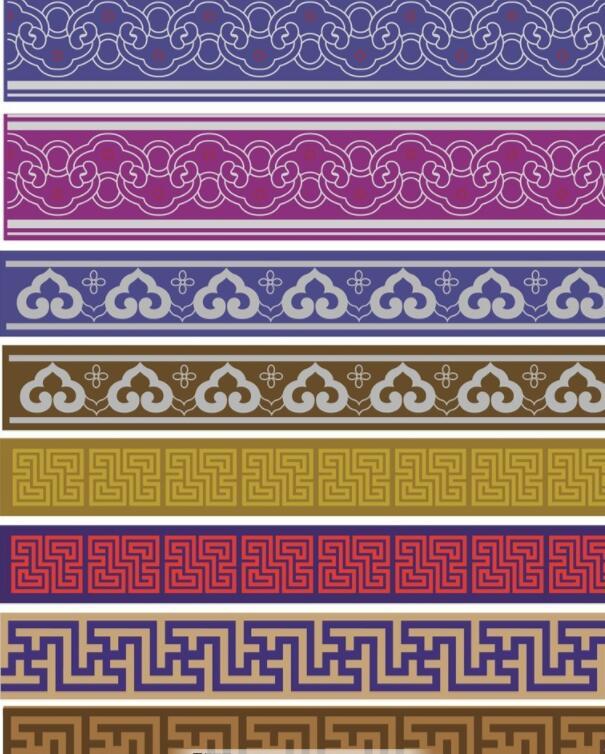 蒙古图案 腰带