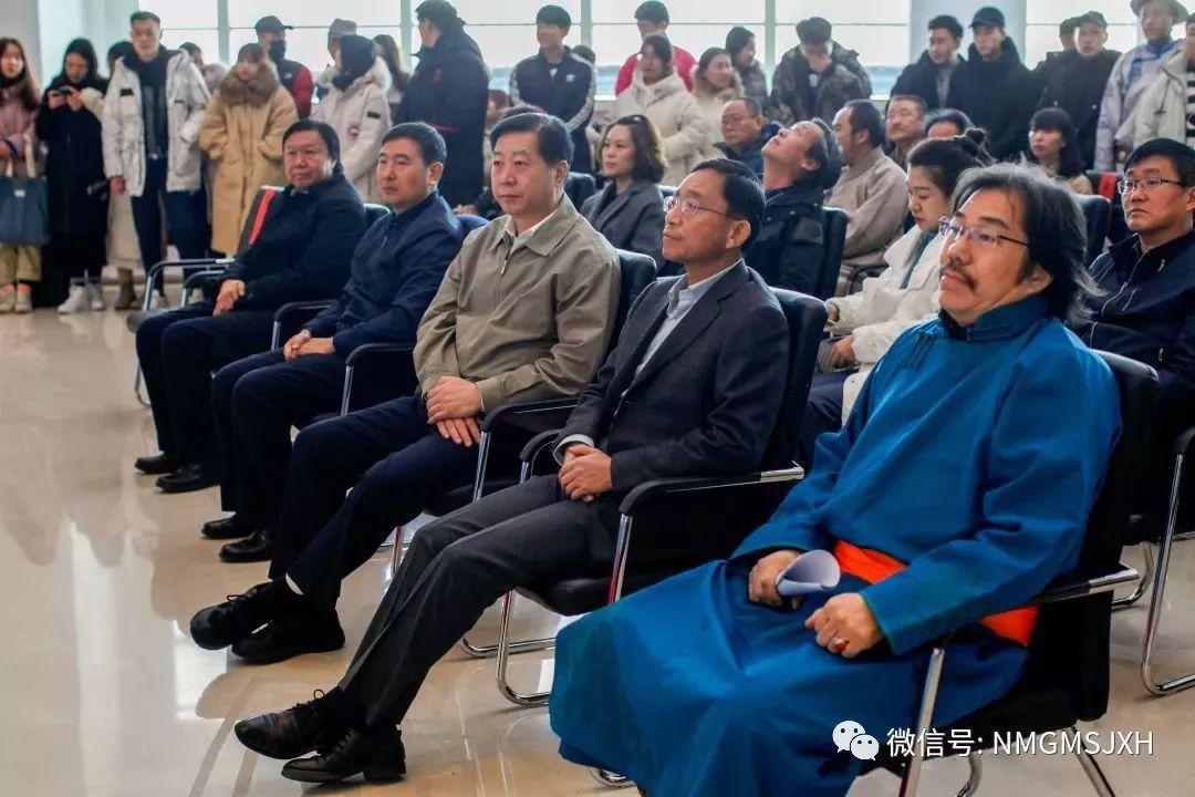 第三届内蒙古版画作品展览 在呼和浩特内蒙古美术馆开幕 第8张