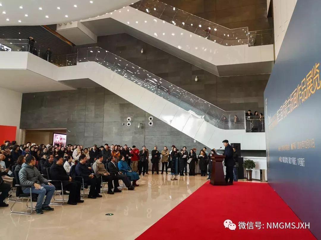 第三届内蒙古版画作品展览 在呼和浩特内蒙古美术馆开幕 第7张