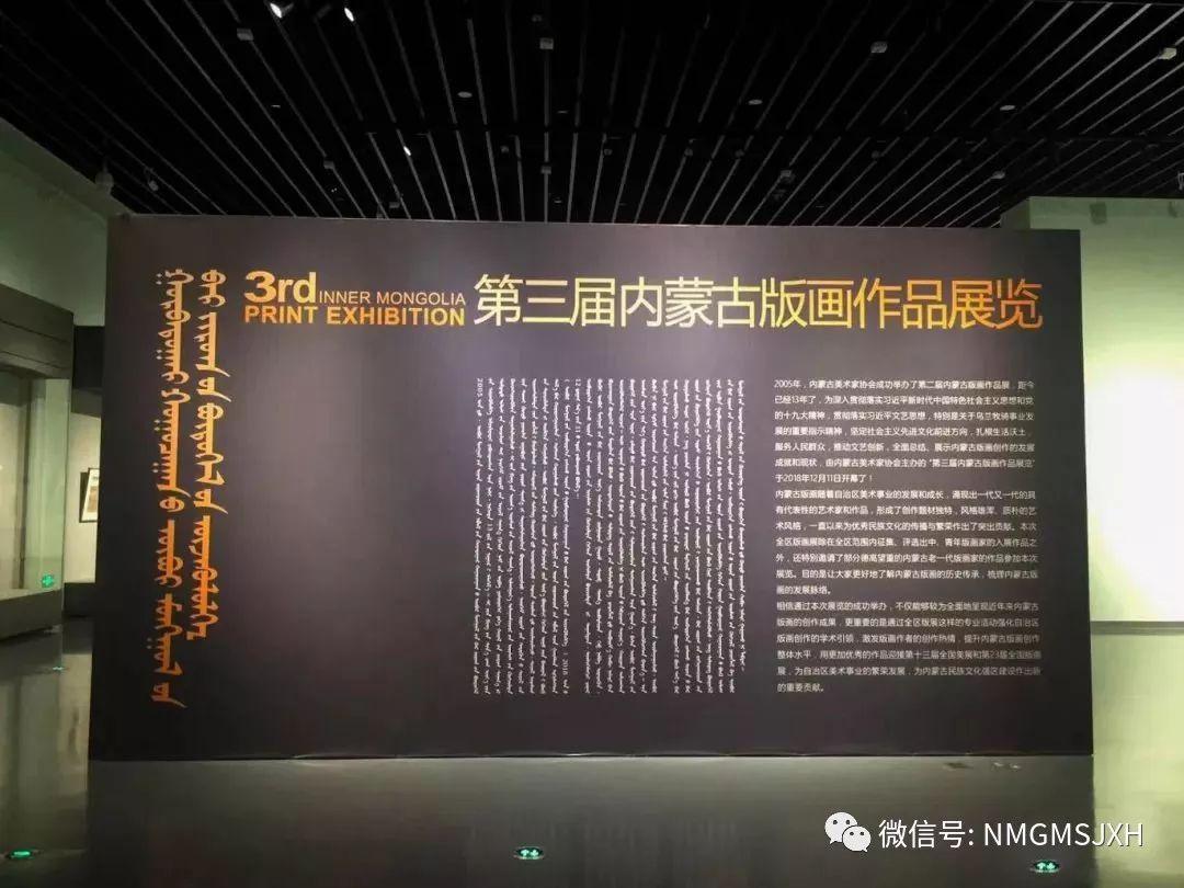 第三届内蒙古版画作品展览 在呼和浩特内蒙古美术馆开幕 第11张