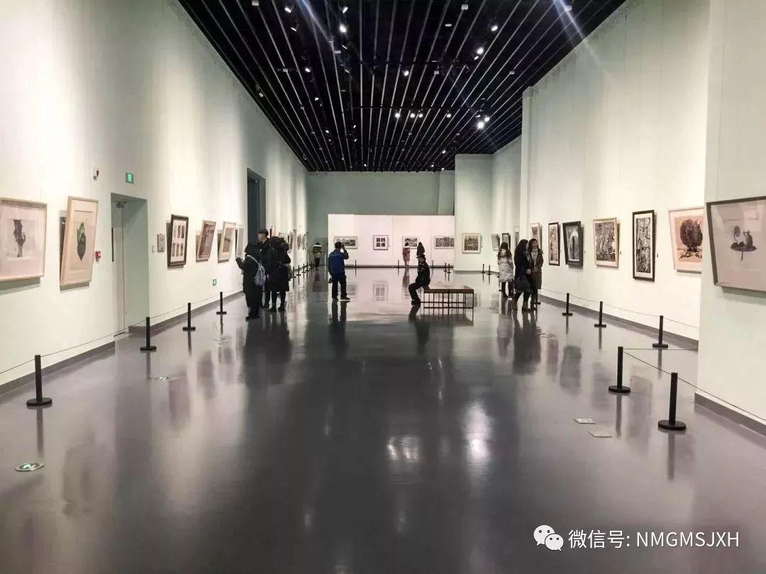 第三届内蒙古版画作品展览 在呼和浩特内蒙古美术馆开幕 第13张