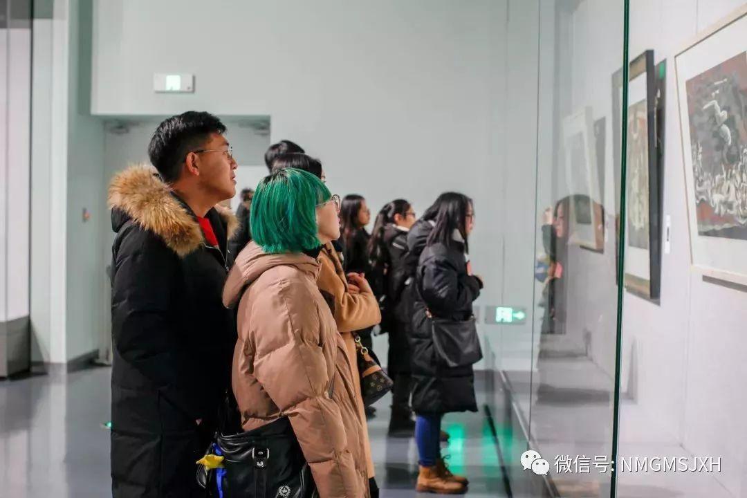 第三届内蒙古版画作品展览 在呼和浩特内蒙古美术馆开幕 第15张