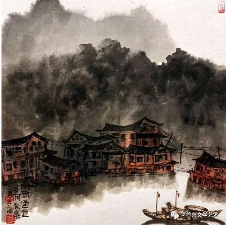 展讯:内蒙古美术名家作品展将于5月28日开展 第4张