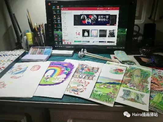 访谈 |蒙古族插画家阿拉坦苏那嘎的创作故事 第2张