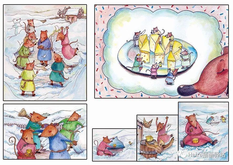 访谈 |蒙古族插画家阿拉坦苏那嘎的创作故事 第3张