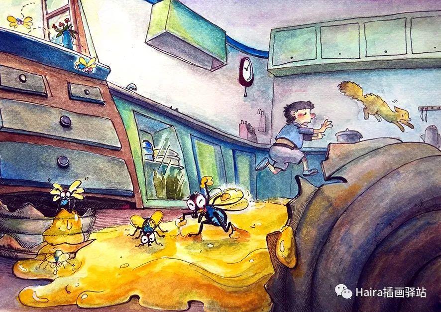 访谈 |蒙古族插画家阿拉坦苏那嘎的创作故事 第7张