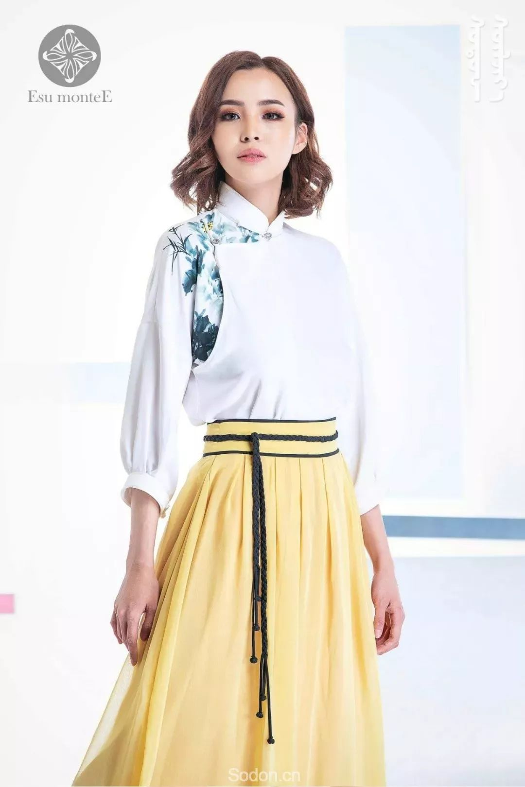 蒙古国Esu蒙古时装2019夏季新款首发! 第5张