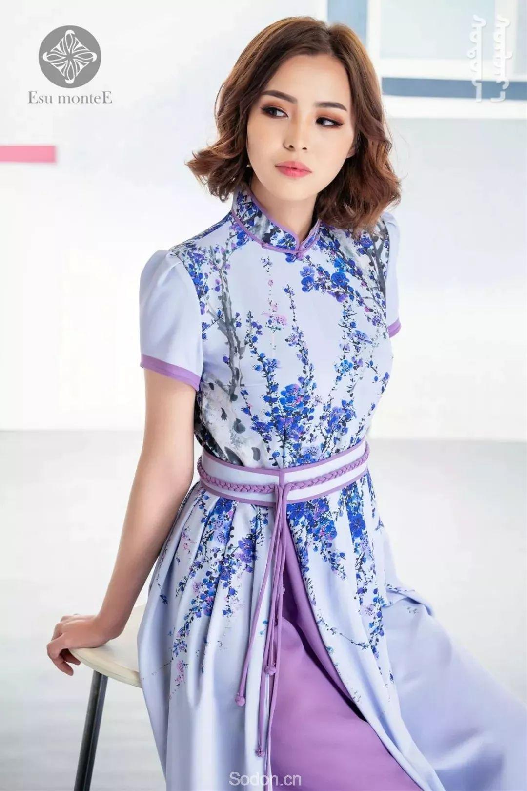 蒙古国Esu蒙古时装2019夏季新款首发! 第6张