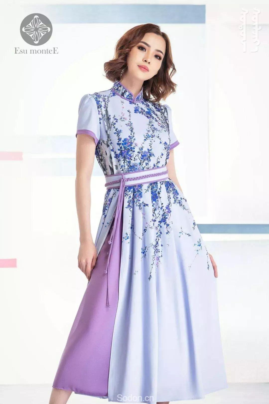 蒙古国Esu蒙古时装2019夏季新款首发! 第7张
