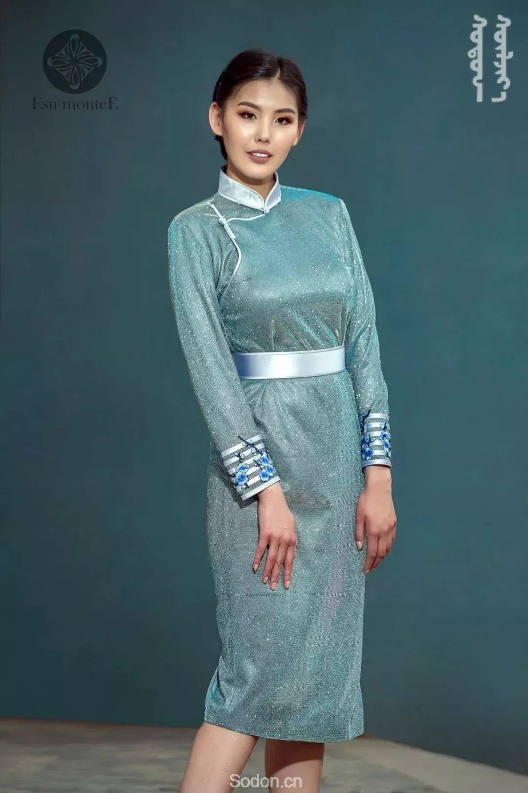 蒙古国Esu蒙古时装2019夏季新款首发! 第25张