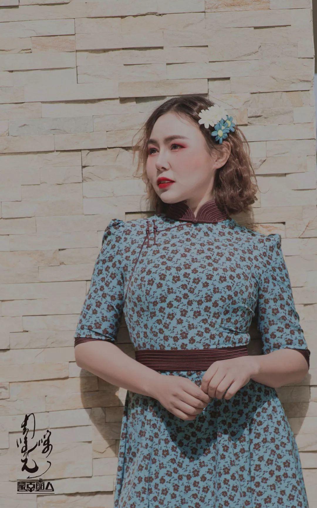今年流行的蒙古风碎花裙 撩爆你的夏天! 第11张