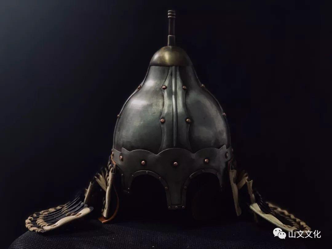 噔,盔甲出炉了   蒙古帝国胸背阔板铁札甲 第3张
