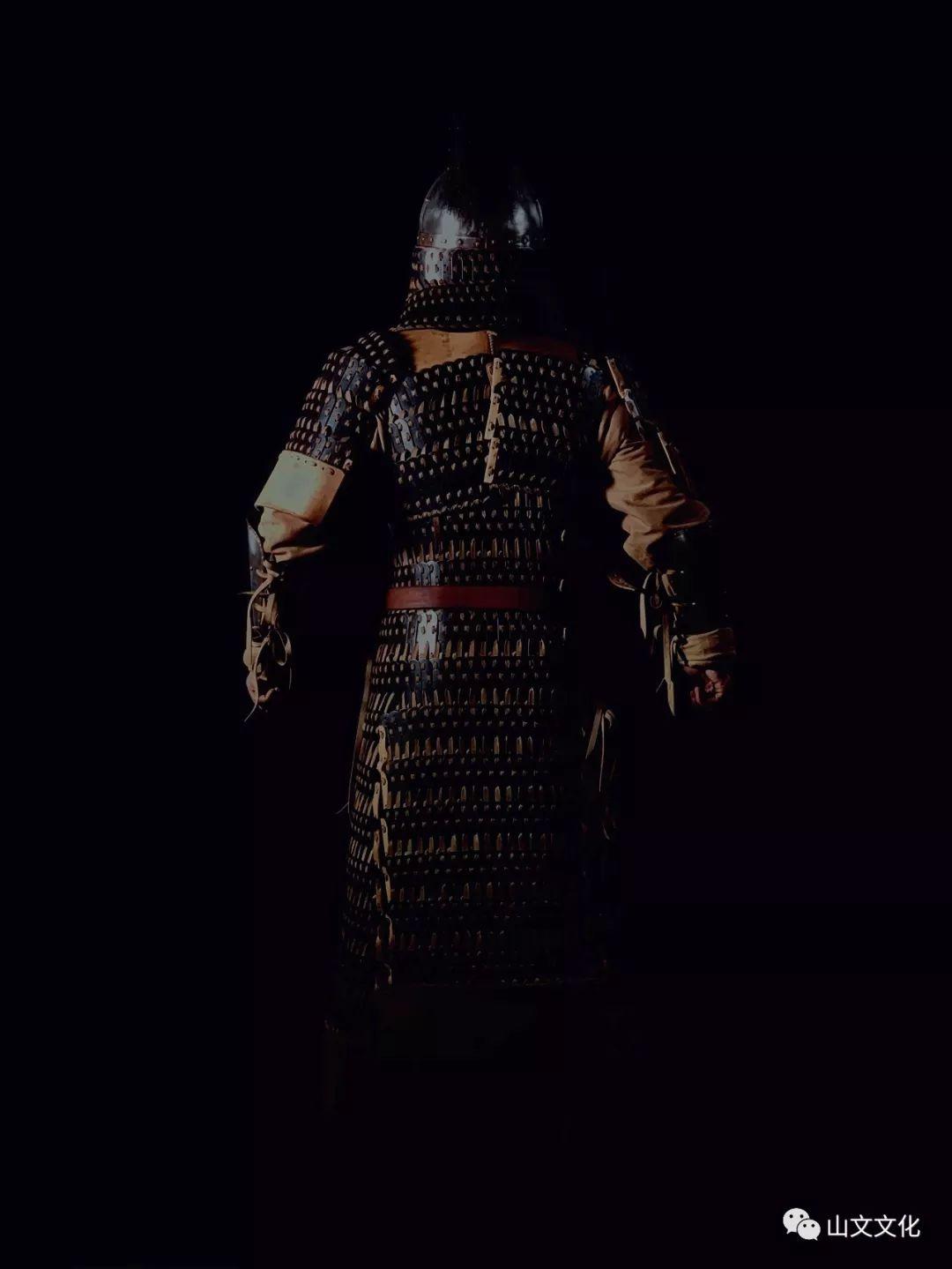 噔,盔甲出炉了   蒙古帝国胸背阔板铁札甲 第10张