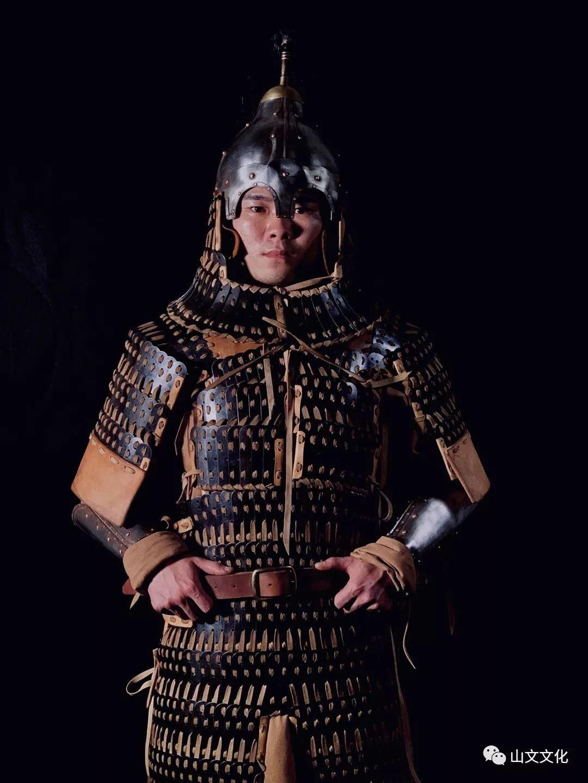 噔,盔甲出炉了   蒙古帝国胸背阔板铁札甲 第11张