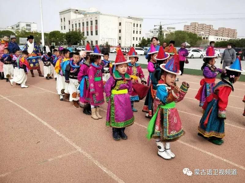 肃北雪山蒙古族孩子们独具特色的六一儿童节 第2张