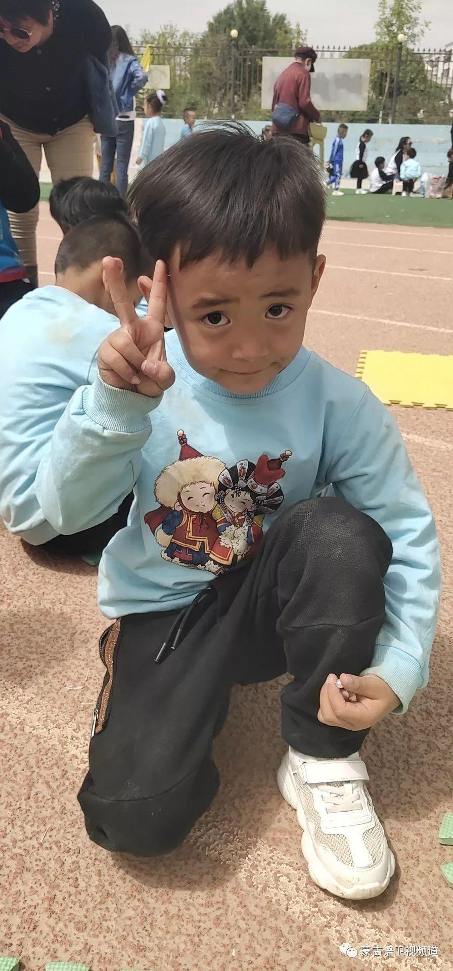 肃北雪山蒙古族孩子们独具特色的六一儿童节 第11张