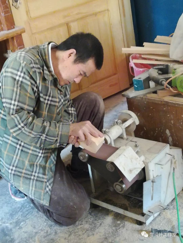 从图纸到实物,我们一起走过|彩绘蒙古族风格立柜的制作过程展示 第8张