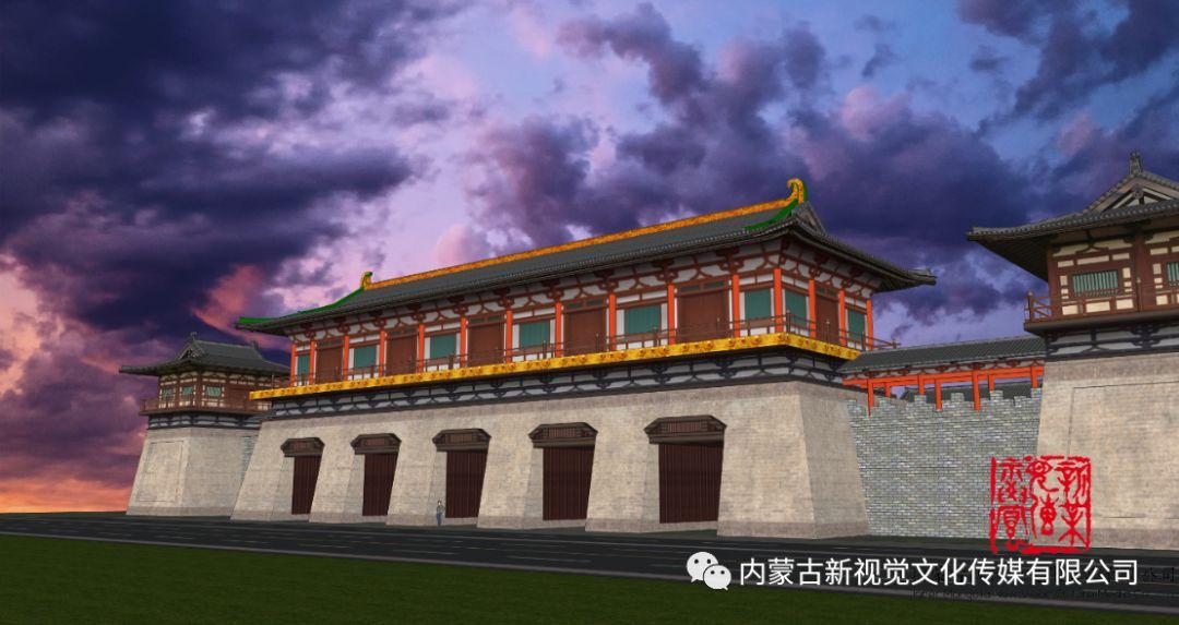 内蒙古辽上京契丹辽文化主题商业步行街设计效果 第5张