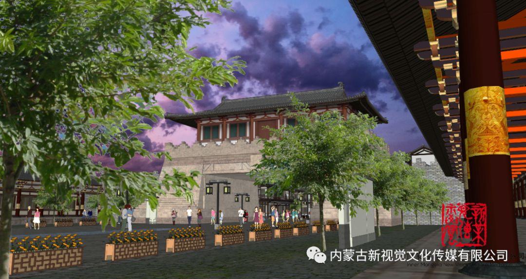 内蒙古辽上京契丹辽文化主题商业步行街设计效果 第3张