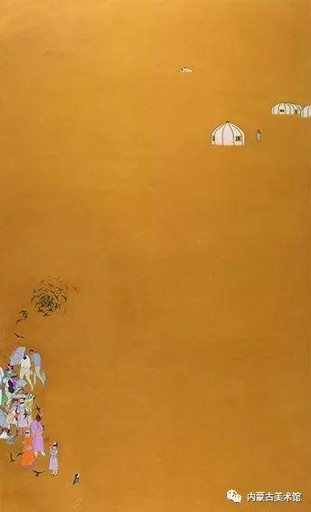 """庆祝中华人民共和国成立七十周年——""""草原四季 亮丽北疆""""全国美术作品展览 第12张"""