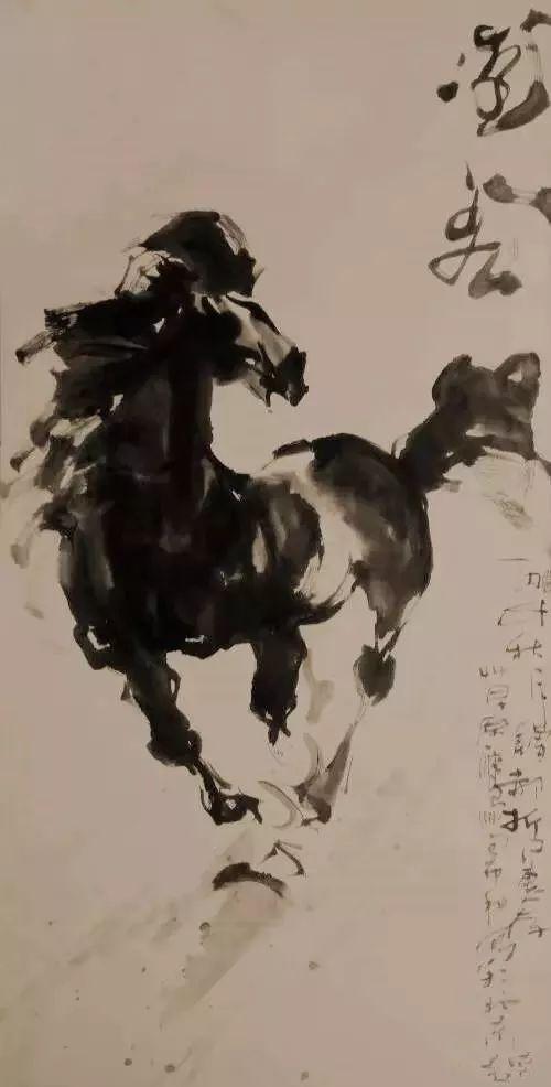 【绘画】画家包布和笔下的蒙古马,简直栩栩如生 第5张
