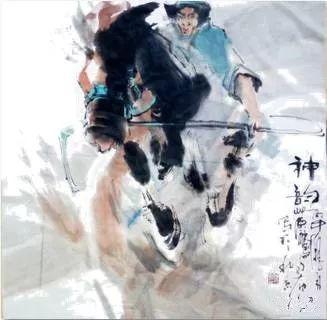 【绘画】画家包布和笔下的蒙古马,简直栩栩如生 第12张