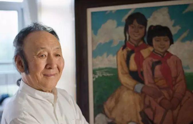 【人物】从草原走向世界的蒙古族油画大师官其格 第1张
