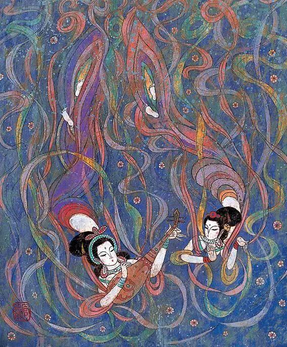 【人物】从草原走向世界的蒙古族油画大师官其格 第6张