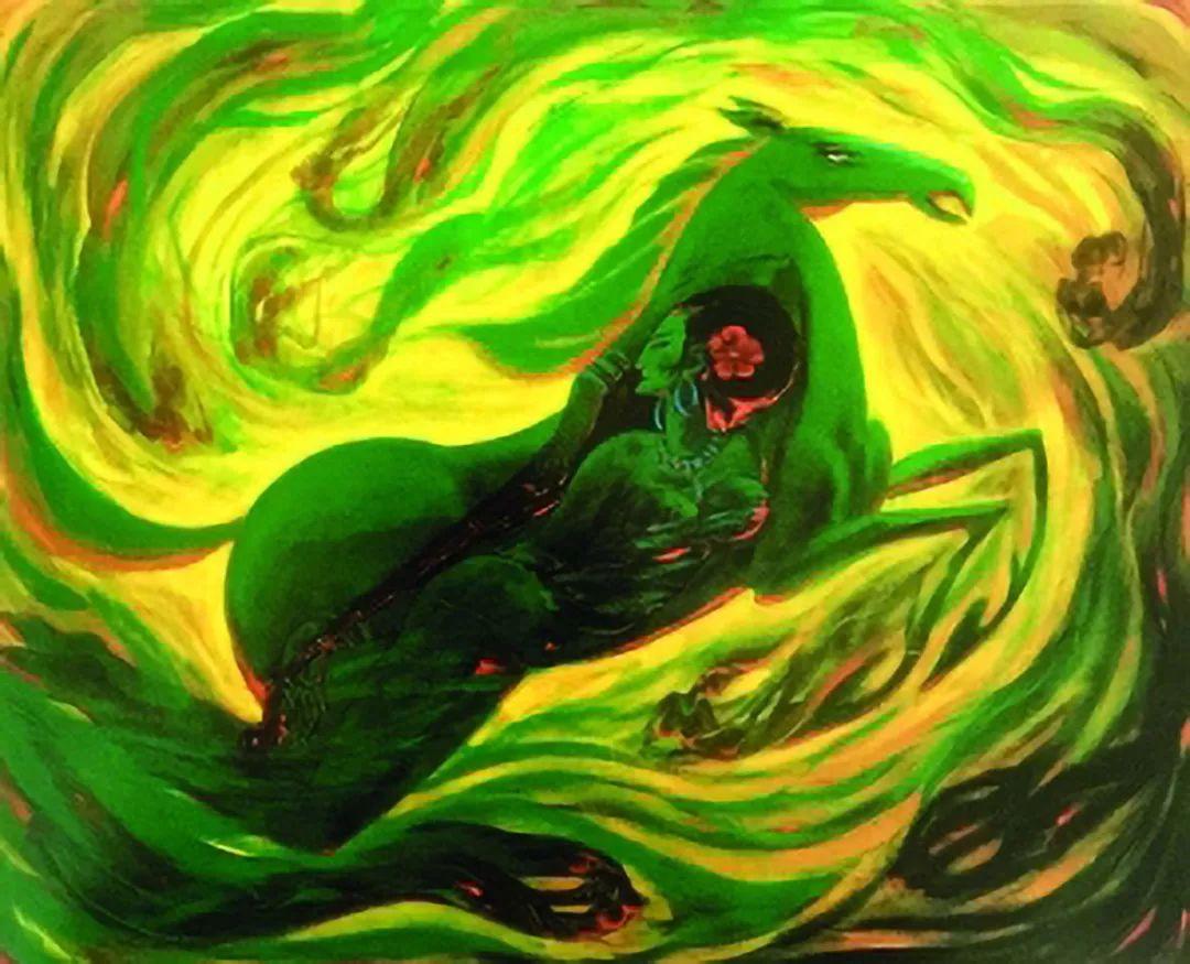 【人物】从草原走向世界的蒙古族油画大师官其格 第8张