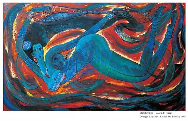 【人物】从草原走向世界的蒙古族油画大师官其格 第21张
