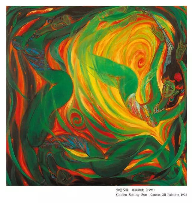 【人物】从草原走向世界的蒙古族油画大师官其格 第25张