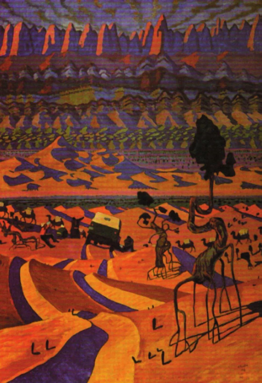 【艺术】蒙古国现当代绘画艺术的起源 第3张