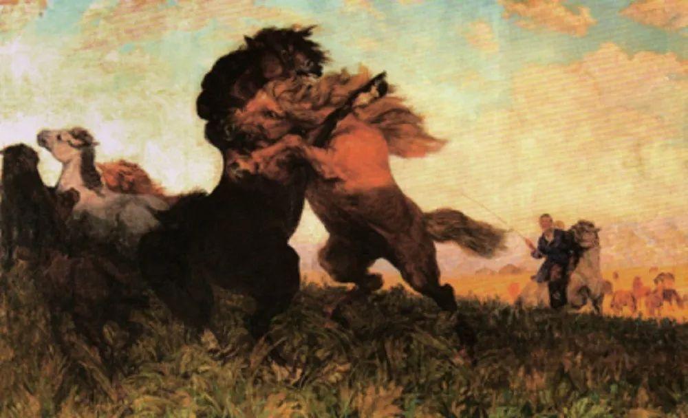 【艺术】蒙古国现当代绘画艺术的起源 第8张