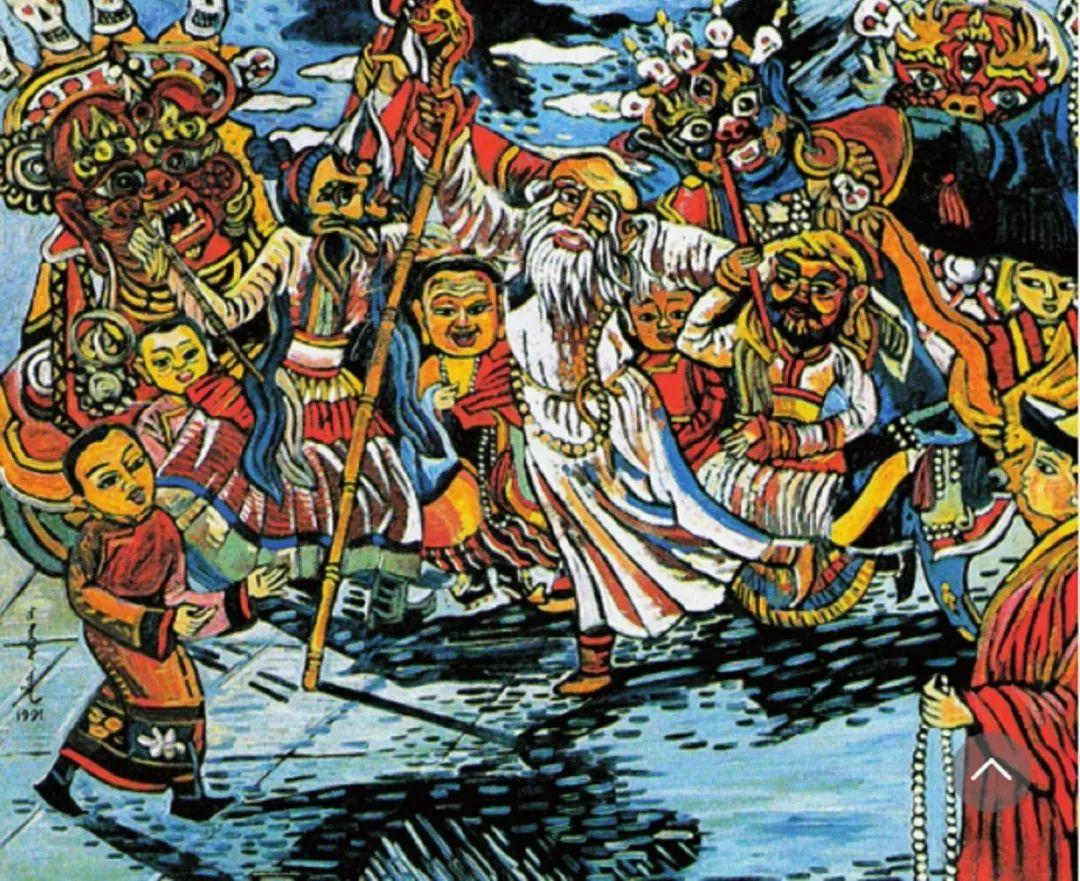 【艺术】蒙古国现当代绘画艺术的起源 第11张