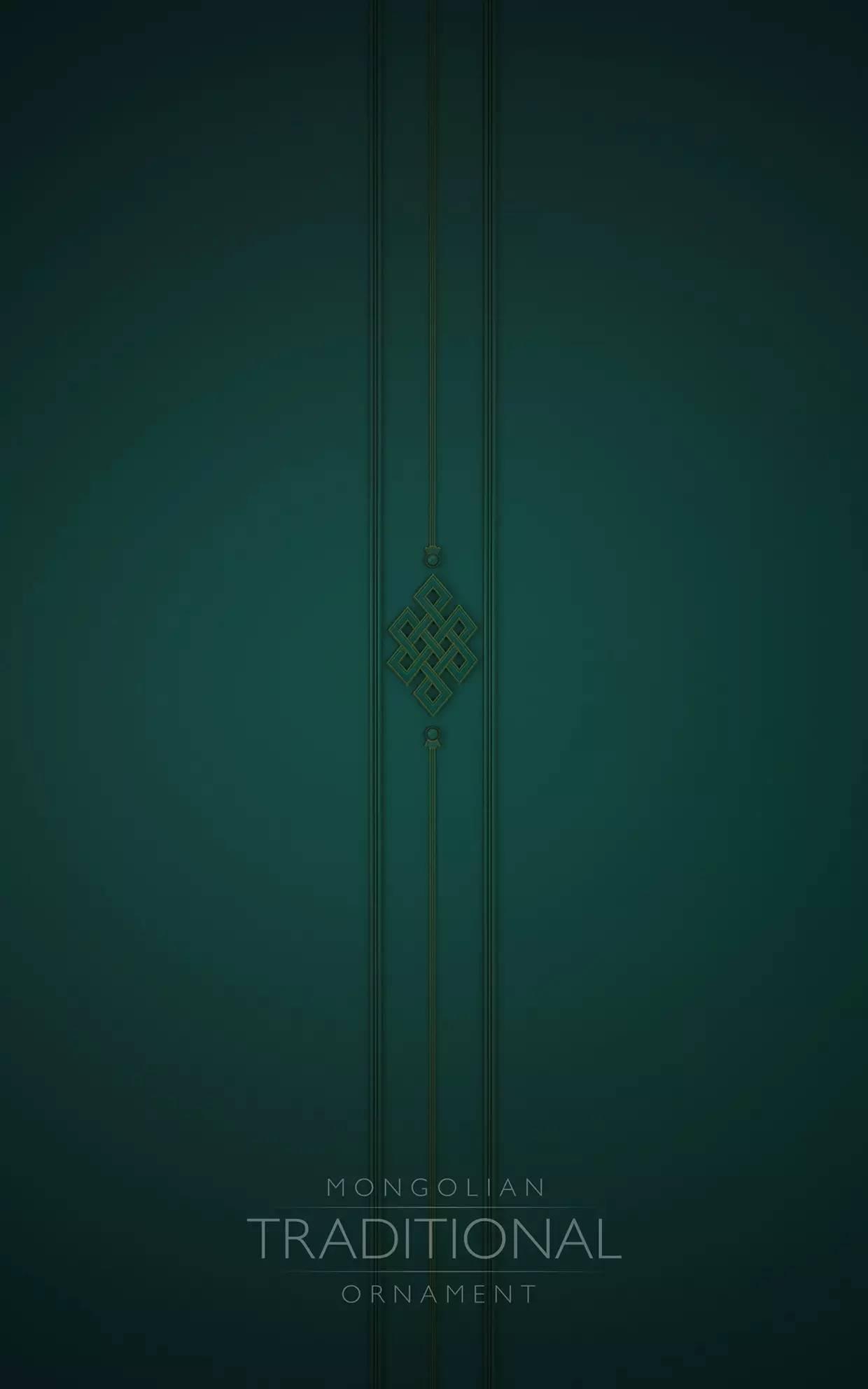 室内设计|蒙族传统装饰(Mongolian Traditional Ornament) 第3张