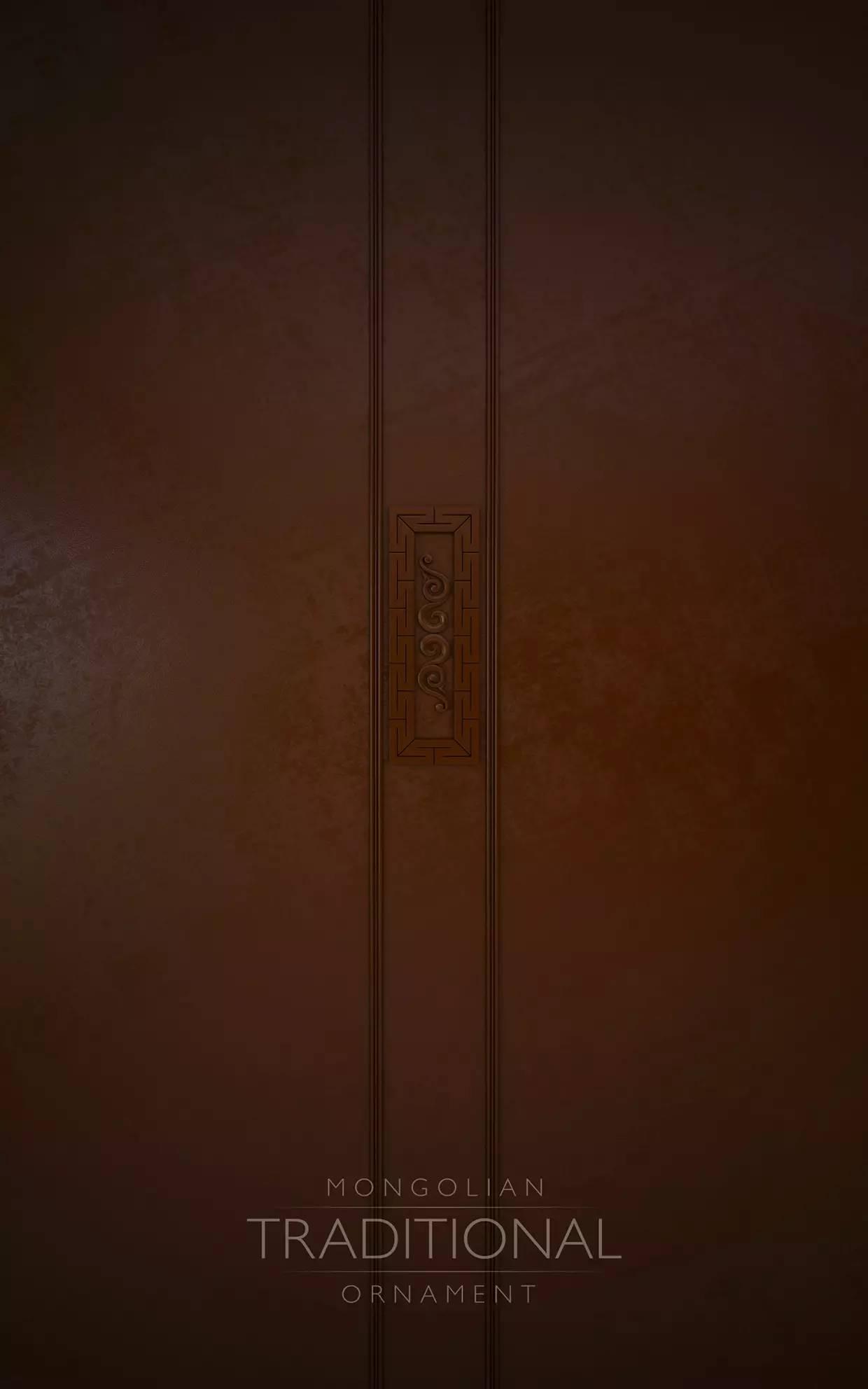 室内设计|蒙族传统装饰(Mongolian Traditional Ornament) 第10张