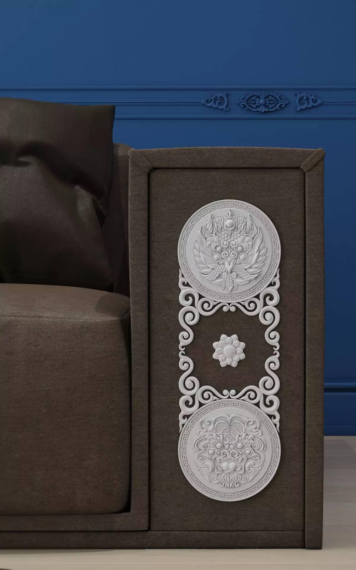 室内设计|蒙族传统装饰(Mongolian Traditional Ornament) 第21张