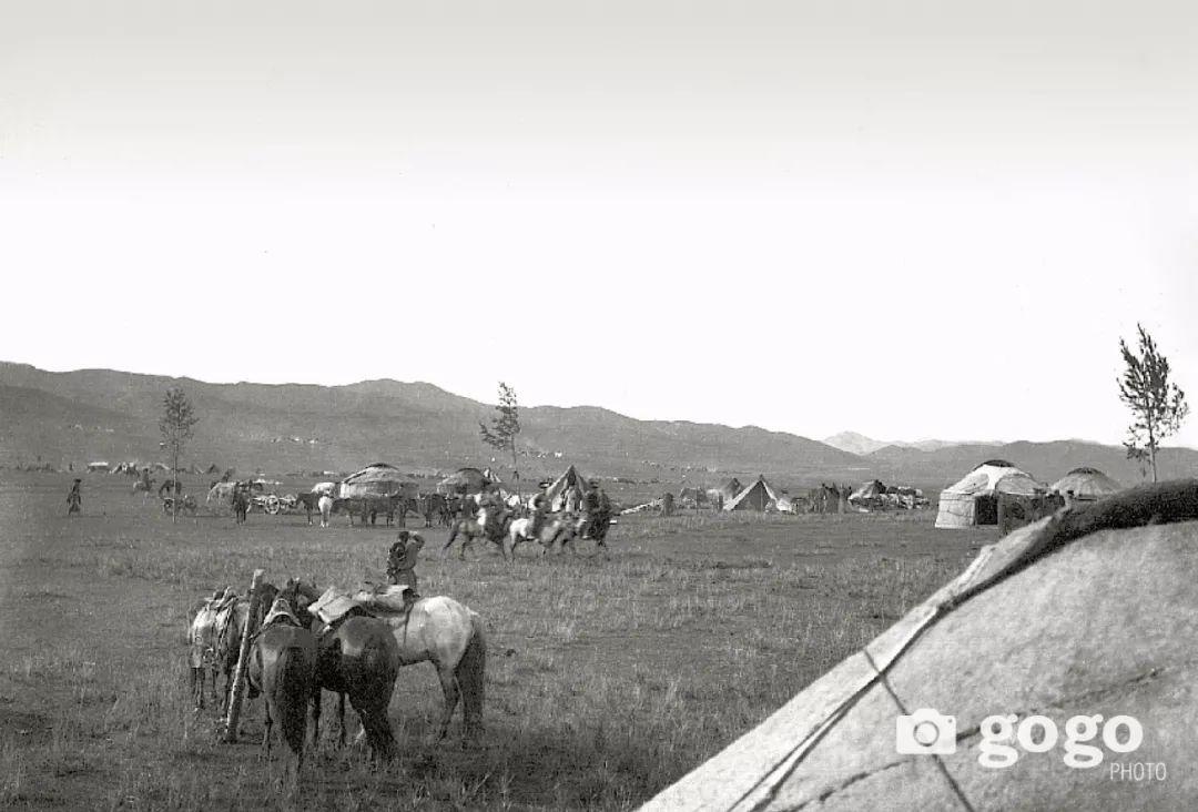 【印迹】定格19 世纪初蒙古人 —— 贵族的帐篷 第5张