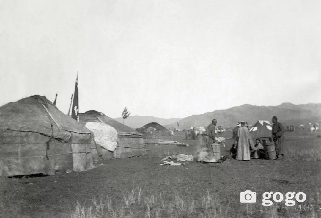【印迹】定格19 世纪初蒙古人 —— 贵族的帐篷 第6张