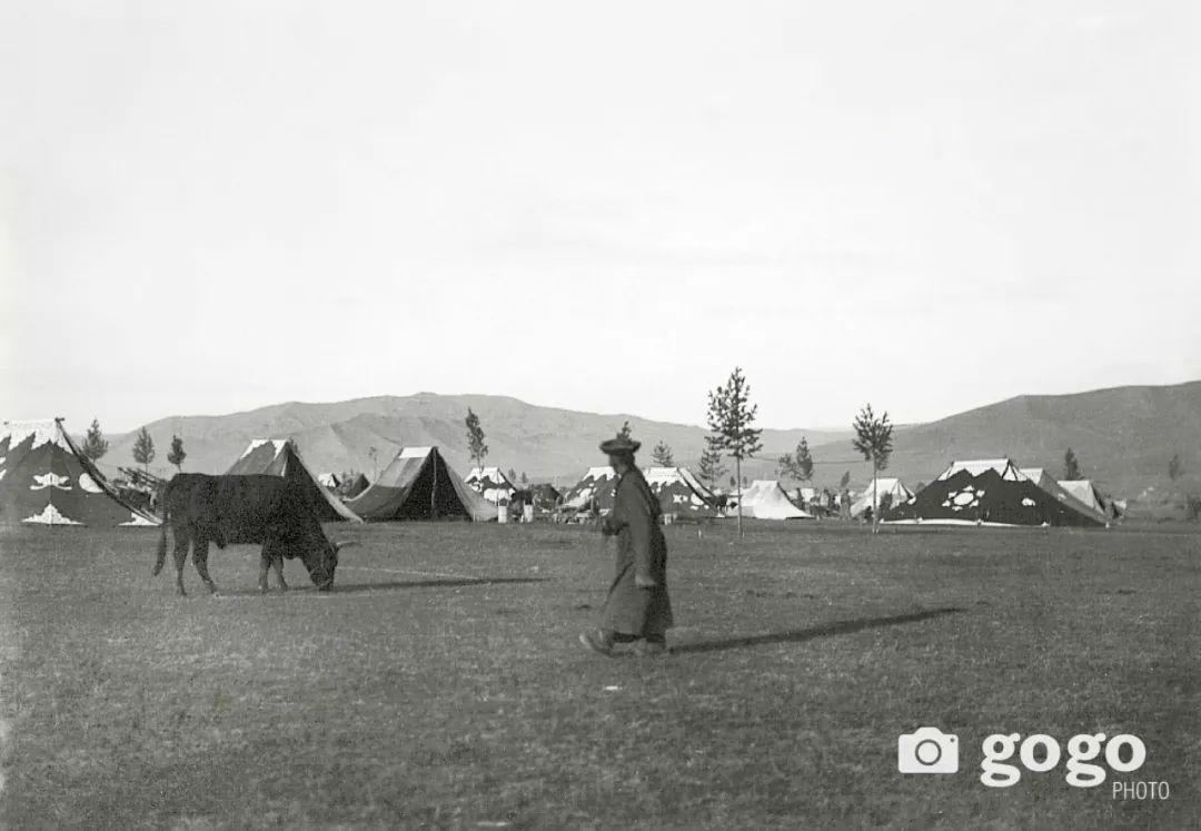 【印迹】定格19 世纪初蒙古人 —— 贵族的帐篷 第8张
