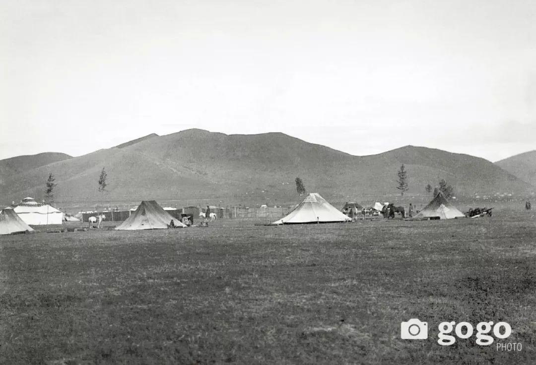 【印迹】定格19 世纪初蒙古人 —— 贵族的帐篷 第7张