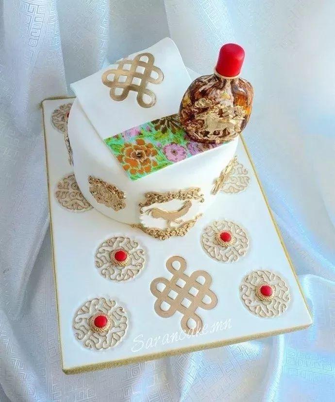 蒙古蛋糕做成这样,你还舍得吃吗? 第6张