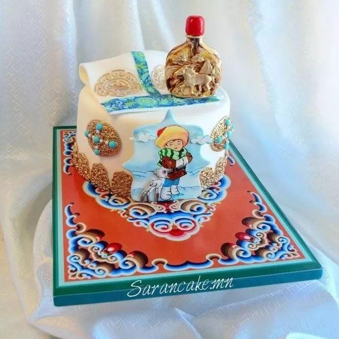 蒙古蛋糕做成这样,你还舍得吃吗? 第7张