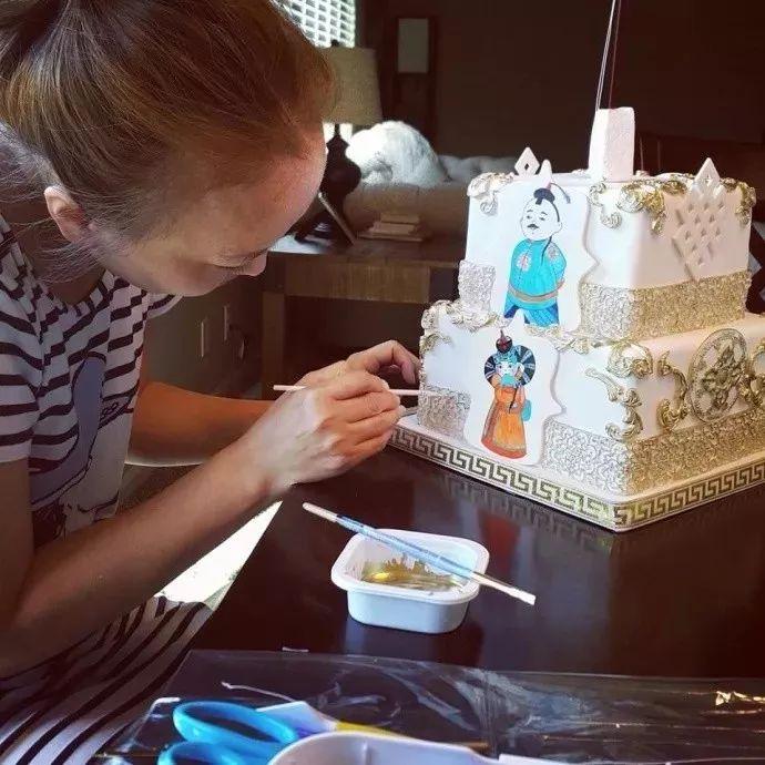 蒙古蛋糕做成这样,你还舍得吃吗? 第9张