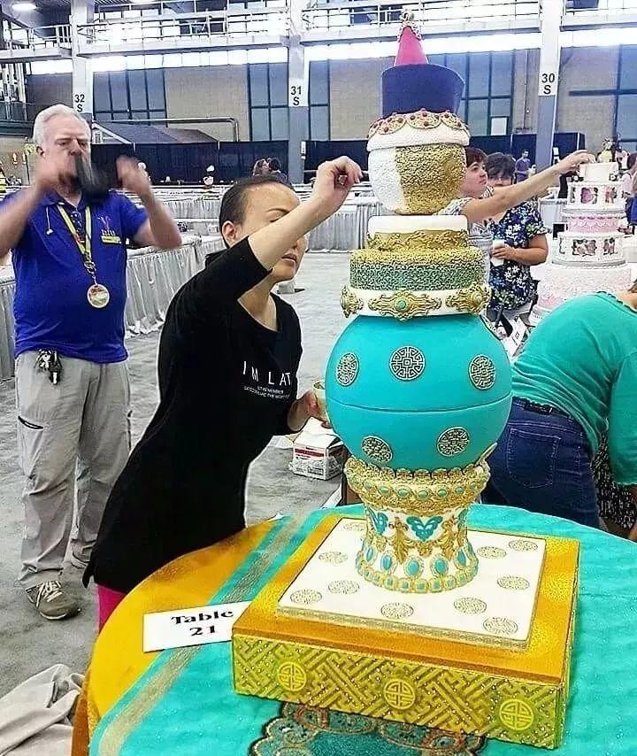 蒙古蛋糕做成这样,你还舍得吃吗? 第24张