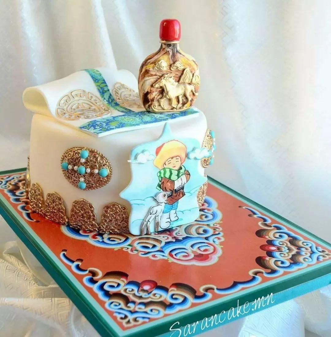 蒙古蛋糕做成这样,你还舍得吃吗? 第34张