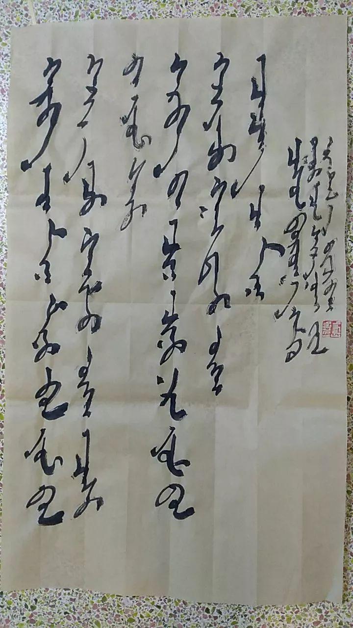 【人物】90后青年才俊乌塔拉:励志为蒙文书法篆刻艺术做贡献 第21张