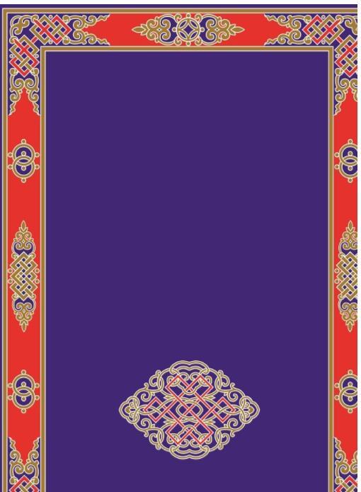 蒙古彩色图案高清图片5